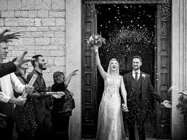 Il matrimonio di Skaiste e Leandro a Montefranco, Terni 3