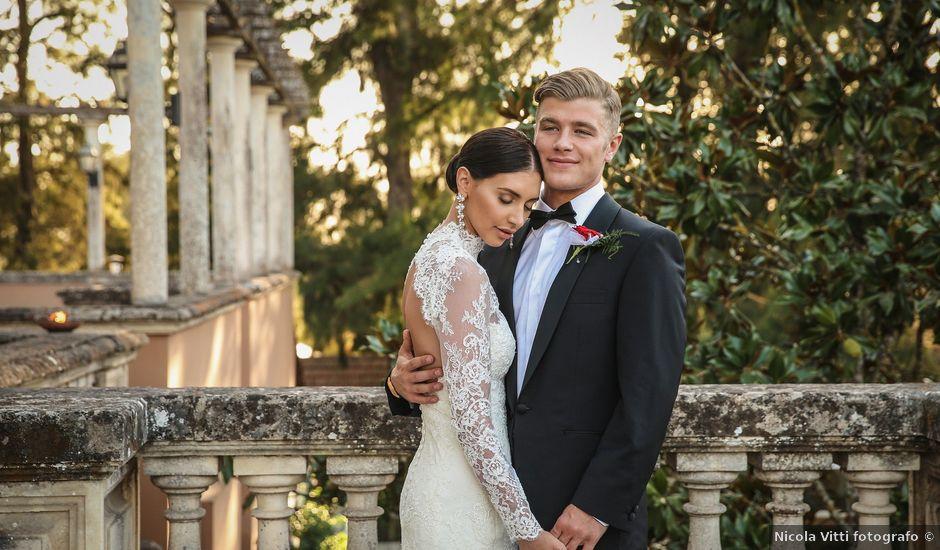 Il matrimonio di Ben e Catherine a Cutrofiano, Lecce