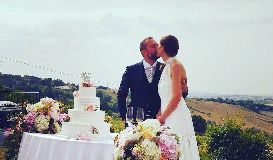 Il matrimonio di Alessandro e Sara a Montecarotto, Ancona