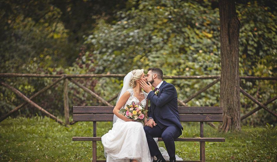 Il matrimonio di Skaiste e Leandro a Montefranco, Terni