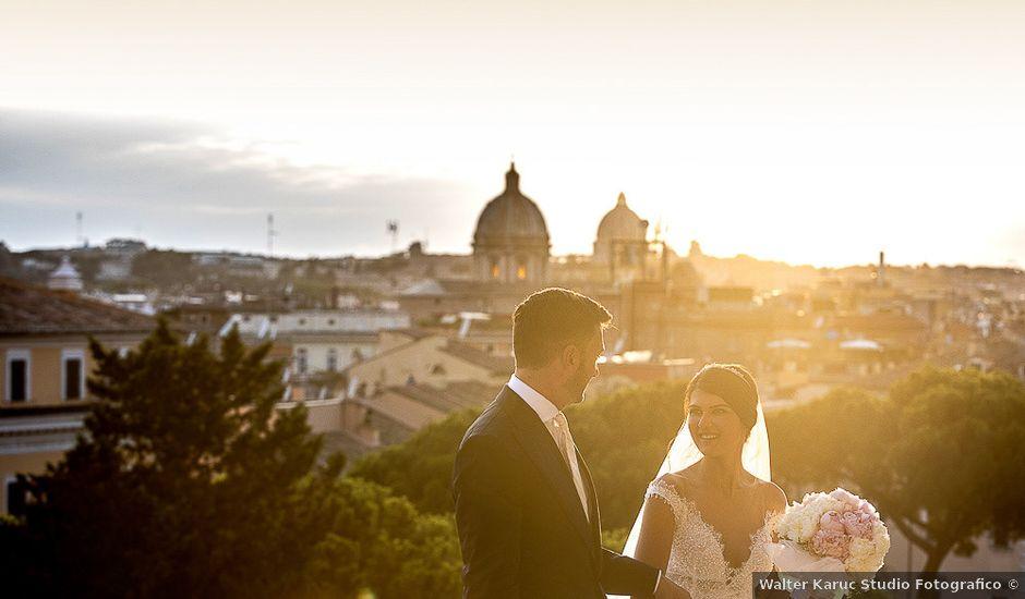 Il matrimonio di Giorgia e Daniele a Roma, Roma