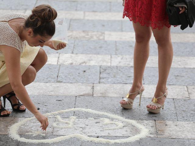 Il matrimonio di Gianluca e Romina a Lettere, Napoli 3