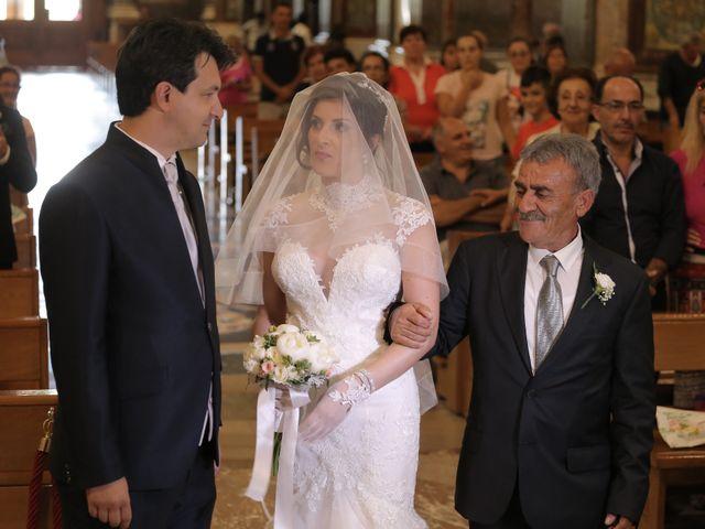 Il matrimonio di Gianluca e Romina a Lettere, Napoli 12