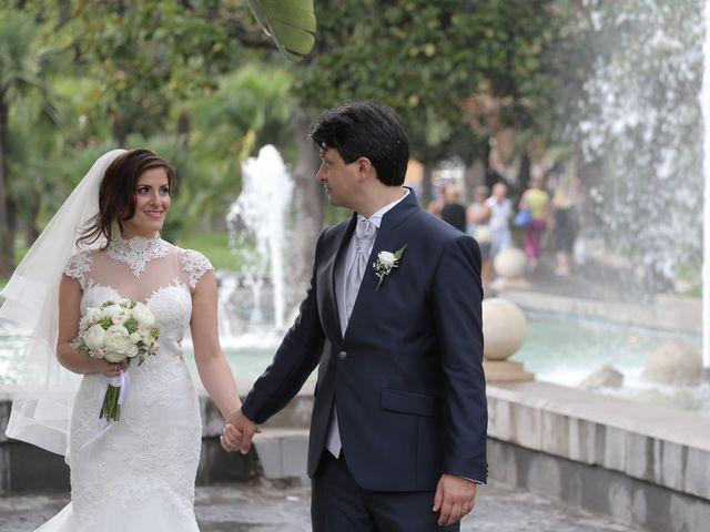 Il matrimonio di Gianluca e Romina a Lettere, Napoli 27
