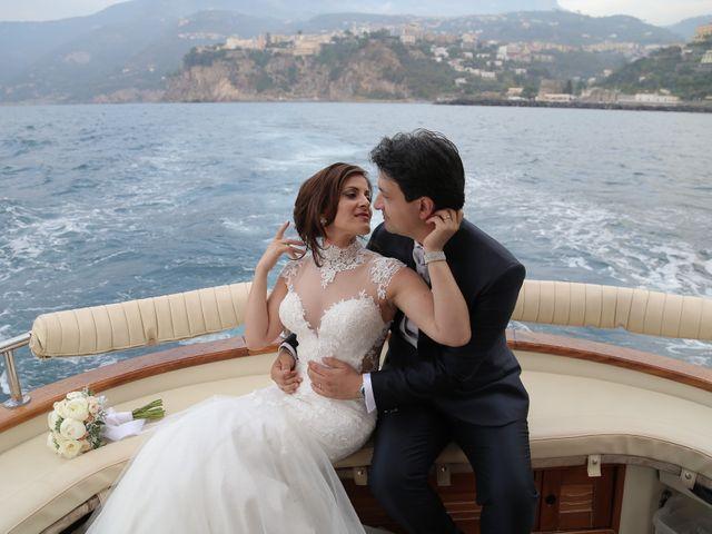 Il matrimonio di Gianluca e Romina a Lettere, Napoli 28