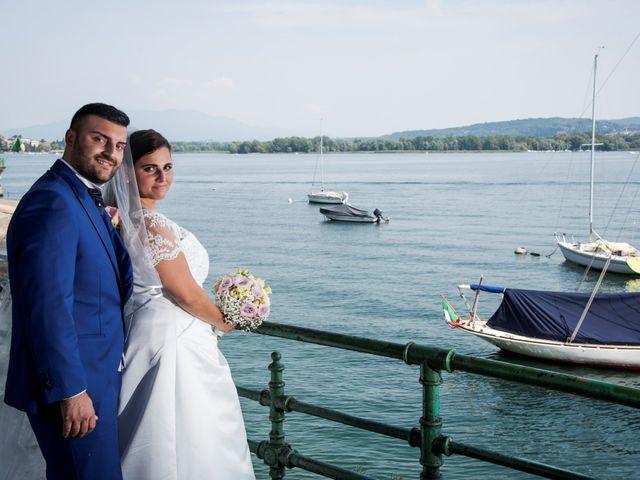le nozze di Elvira e Luca