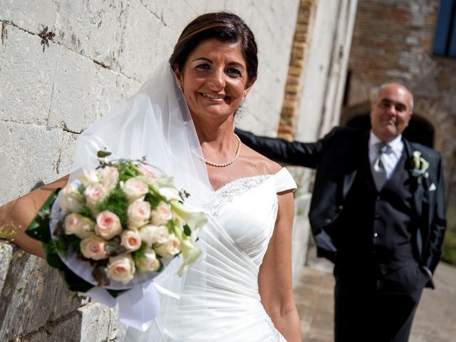 Il matrimonio di Massimo e Romina a Sirolo, Ancona 8