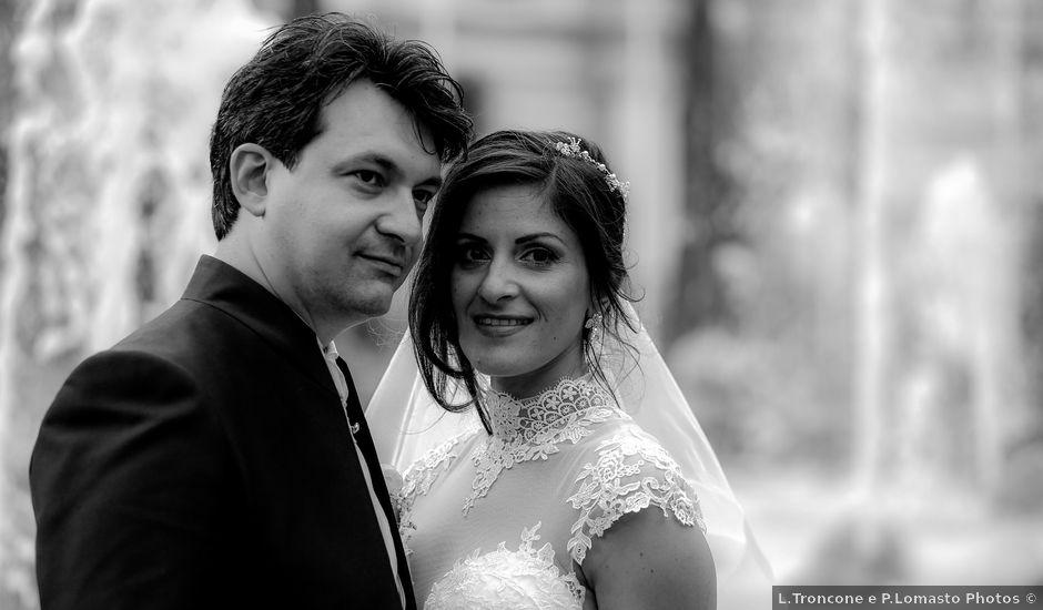 Il matrimonio di Gianluca e Romina a Lettere, Napoli