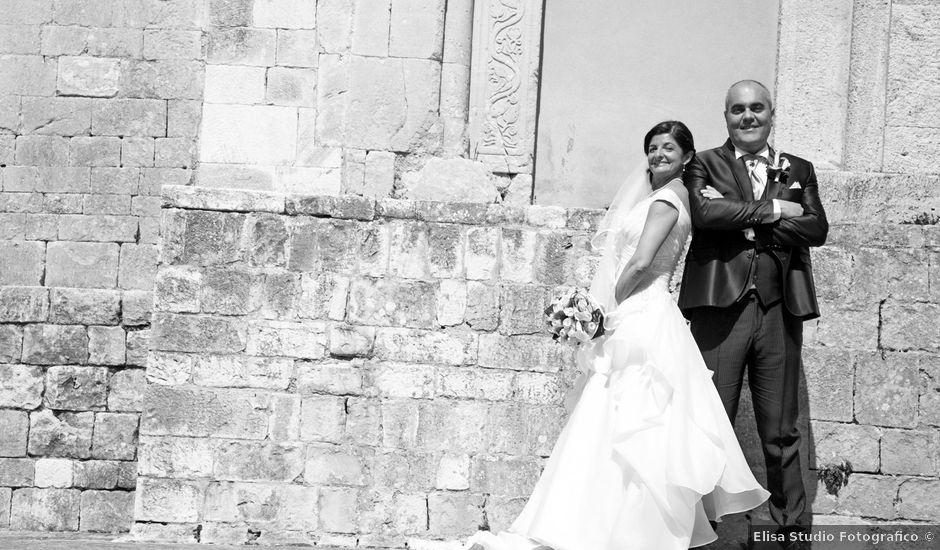 Il matrimonio di Massimo e Romina a Sirolo, Ancona