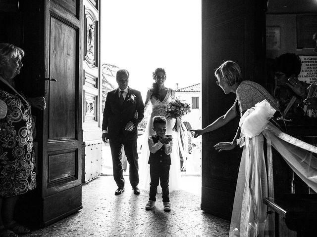 Il matrimonio di Andrea e Delia a Ponsacco, Pisa 25