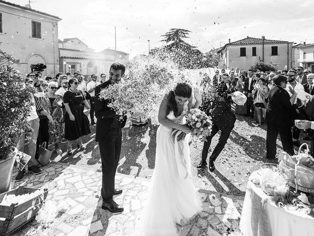 Il matrimonio di Andrea e Delia a Ponsacco, Pisa 37