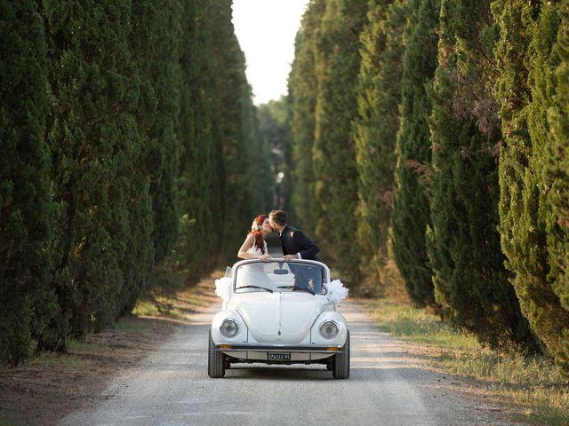 Il matrimonio di Andrea e Delia a Ponsacco, Pisa 63