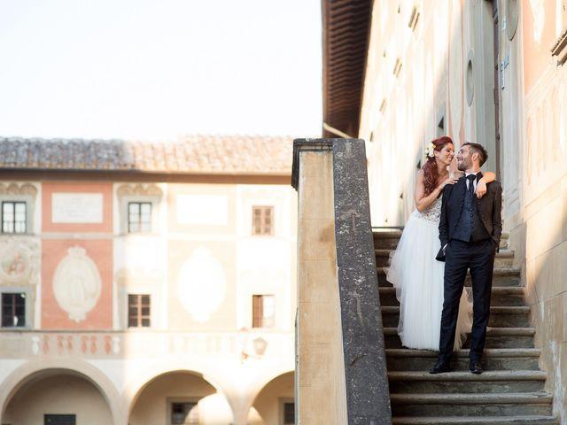 Il matrimonio di Andrea e Delia a Ponsacco, Pisa 65