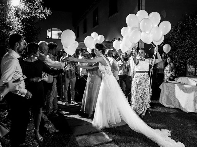 Il matrimonio di Andrea e Delia a Ponsacco, Pisa 76