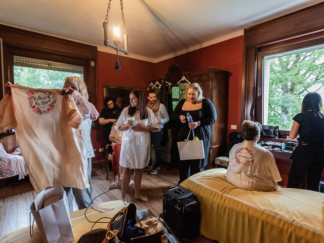 Il matrimonio di Thomas e Becky a Ispra, Varese 6