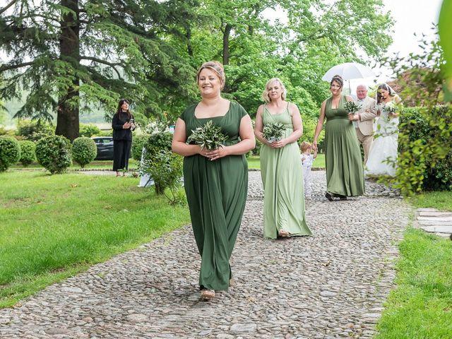 Il matrimonio di Thomas e Becky a Ispra, Varese 85