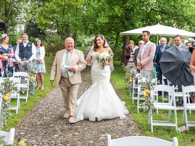Il matrimonio di Thomas e Becky a Ispra, Varese 90