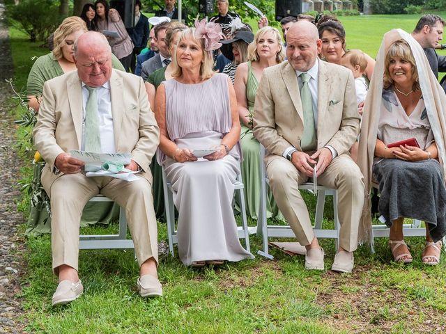 Il matrimonio di Thomas e Becky a Ispra, Varese 95