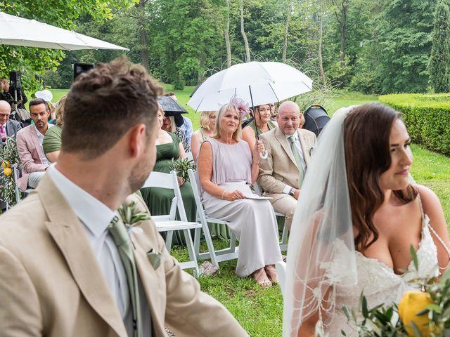 Il matrimonio di Thomas e Becky a Ispra, Varese 104