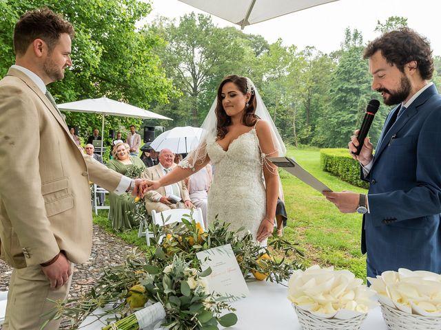 Il matrimonio di Thomas e Becky a Ispra, Varese 110