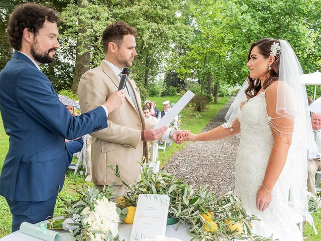 Il matrimonio di Thomas e Becky a Ispra, Varese 112