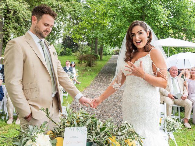Il matrimonio di Thomas e Becky a Ispra, Varese 123