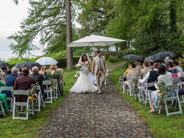 Il matrimonio di Thomas e Becky a Ispra, Varese 133