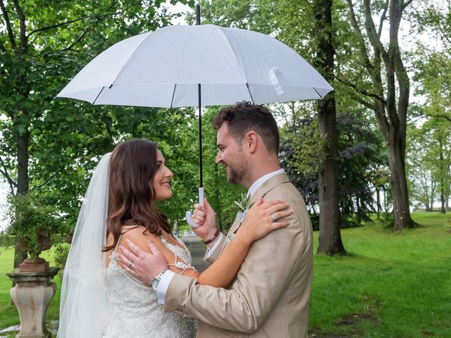 Il matrimonio di Thomas e Becky a Ispra, Varese 157