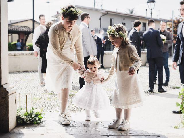 Il matrimonio di Claudio e Elena a Pozzolengo, Brescia 15