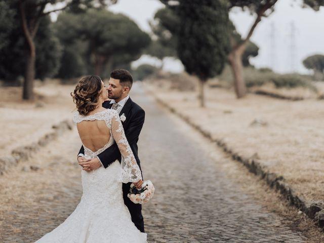 Le nozze di Alexandra e Gabriele