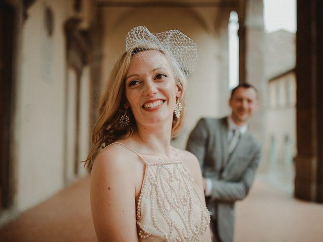 Il matrimonio di Jonathan e Denise a Sansepolcro, Arezzo 1