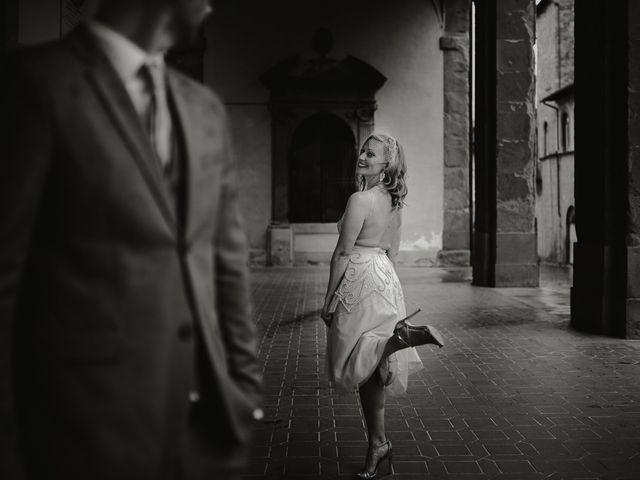 Il matrimonio di Jonathan e Denise a Sansepolcro, Arezzo 7