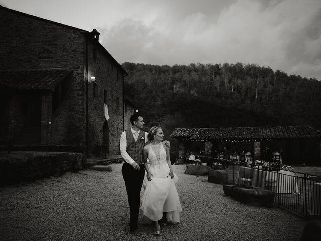 Il matrimonio di Jonathan e Denise a Sansepolcro, Arezzo 28