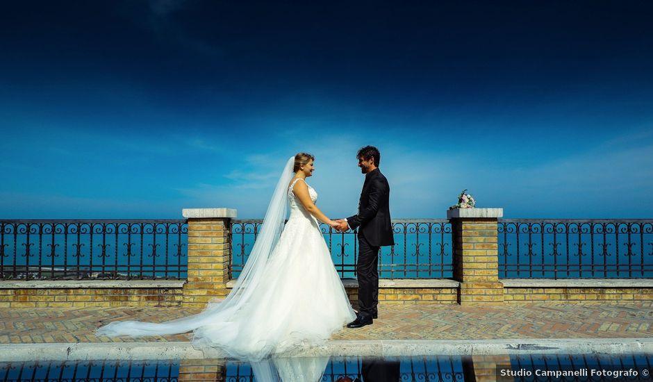 Il matrimonio di Andrea e Raffaella a Montefiore dell'Aso, Ascoli Piceno
