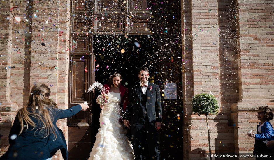 Il matrimonio di Luca e Elena a Montefano, Macerata