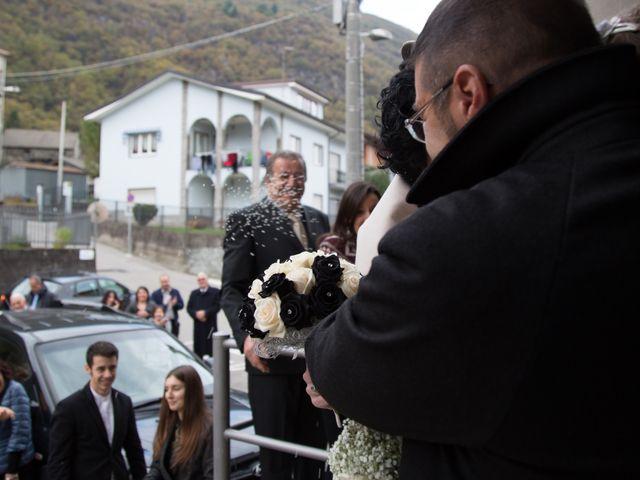 Il matrimonio di Stefano e Cristina a Pallanzeno, Verbania 17
