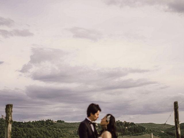 Il matrimonio di Yoshiki e Marika a Gaiole in Chianti, Siena 1