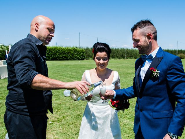 Il matrimonio di Thomas e Federica a Bagnacavallo, Ravenna 1