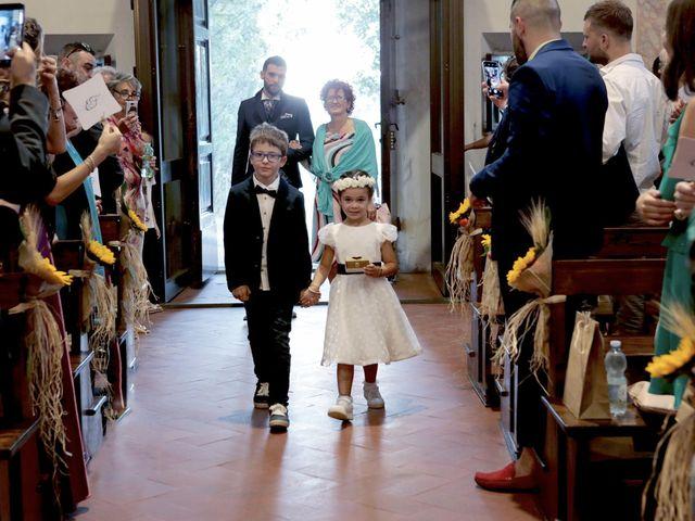 Il matrimonio di Filippo e Elisa a Vinci, Firenze 16