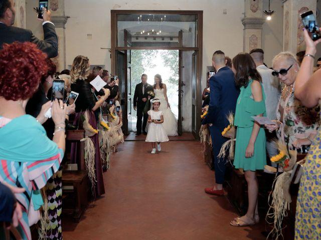 Il matrimonio di Filippo e Elisa a Vinci, Firenze 19