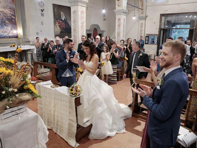 Il matrimonio di Filippo e Elisa a Vinci, Firenze 24