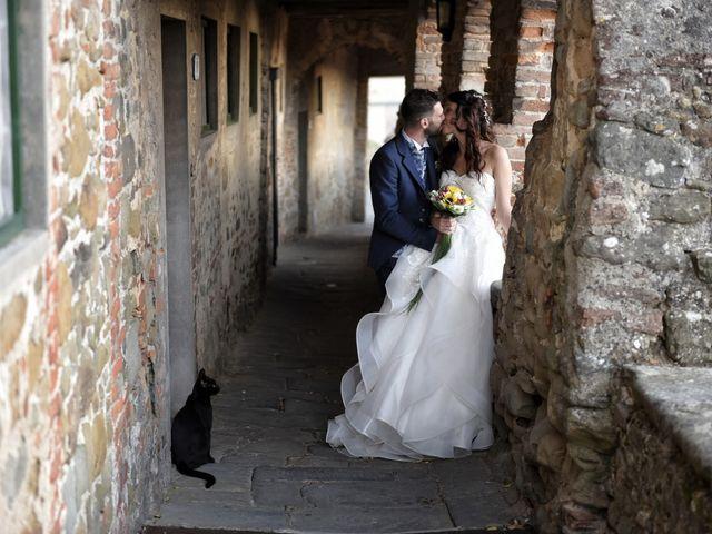 Il matrimonio di Filippo e Elisa a Vinci, Firenze 35