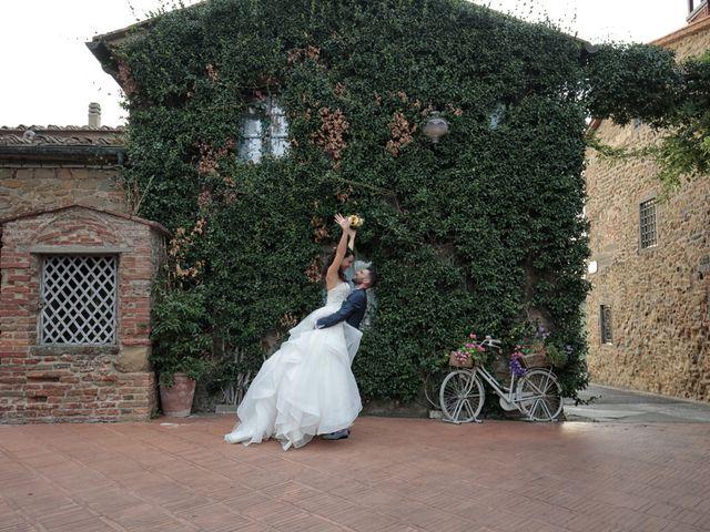 Il matrimonio di Filippo e Elisa a Vinci, Firenze 36