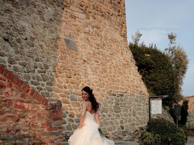Il matrimonio di Filippo e Elisa a Vinci, Firenze 43