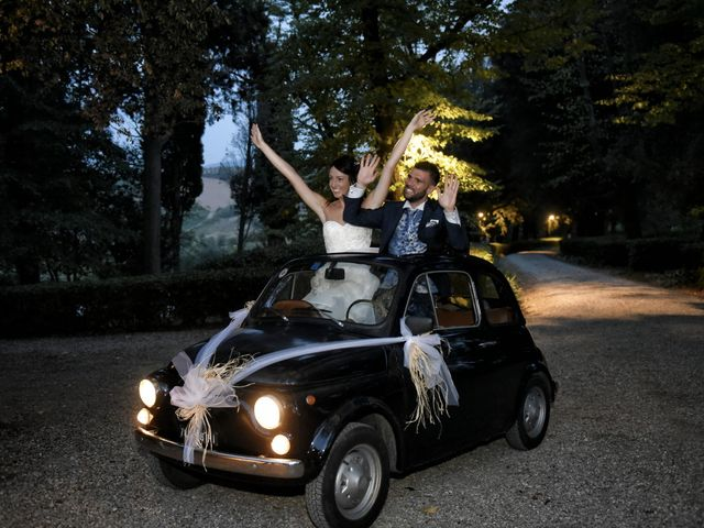 Il matrimonio di Filippo e Elisa a Vinci, Firenze 49