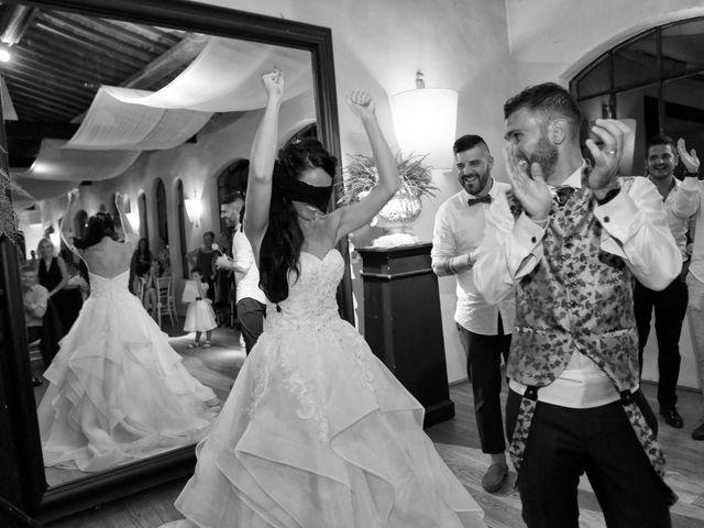Il matrimonio di Filippo e Elisa a Vinci, Firenze 56