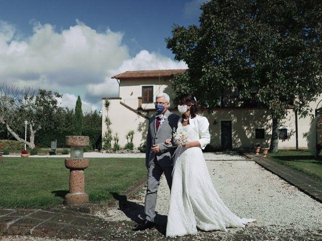 Il matrimonio di Federico e Ilaria a Ronciglione, Viterbo 7