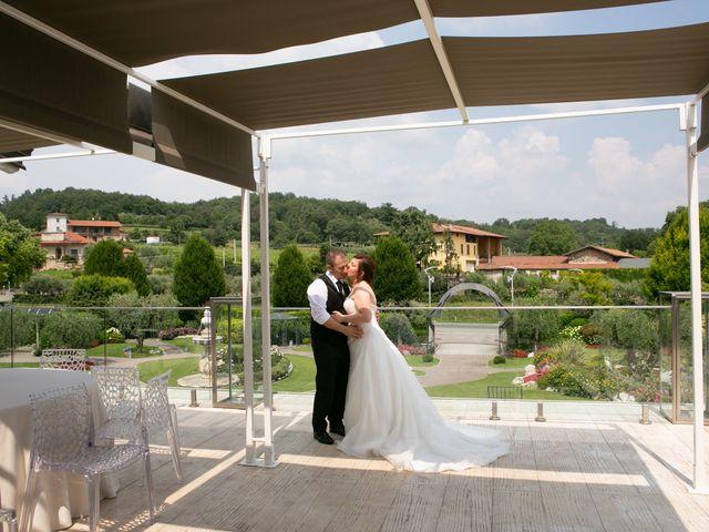 Il matrimonio di Maurizio e Valeria a Corte Franca, Brescia 27