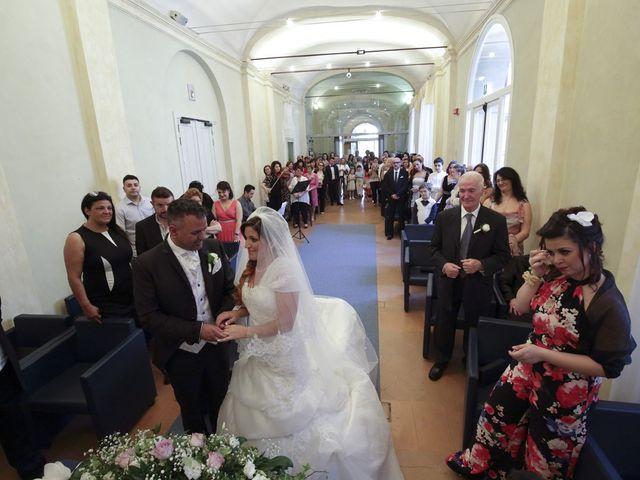 Il matrimonio di Max e Rosy a Soliera, Modena 45