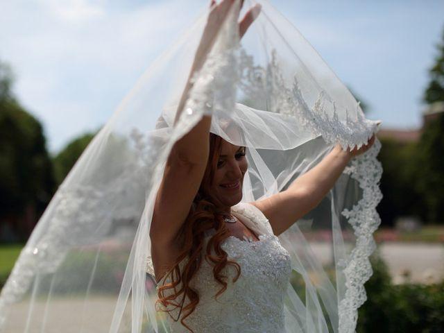 Il matrimonio di Max e Rosy a Soliera, Modena 57